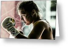 Ronda Rousey Mma Greeting Card
