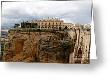 Ronda Spain- The Puente Nuevo Greeting Card