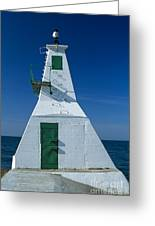 Rondeau Lighthouse Greeting Card