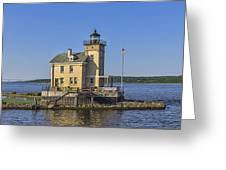 Rondout Light Greeting Card