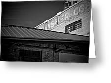 Roof And Brick Greeting Card