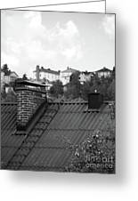 Roof Greeting Card