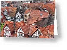 Roofs Of Bad Sooden-allendorf Greeting Card by Heiko Koehrer-Wagner