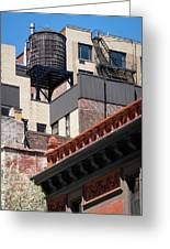 Roofscape Greeting Card