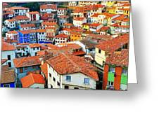 Rooftop View Greeting Card