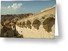 Rooftops Of Dubrovnik  Greeting Card
