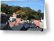 Rooftops Of Harpers Ferry Greeting Card