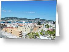 Rooftops Of Ibiza 4 Greeting Card