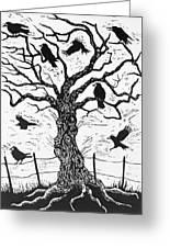 Rook Tree Greeting Card