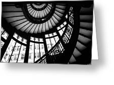 Rookery Stairwell Greeting Card