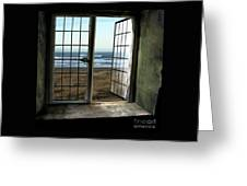 Room For Two And A Ocean Breeze Greeting Card