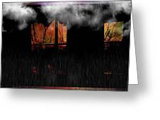 Room With Clouds Greeting Card