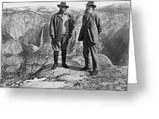 Roosevelt & Muir Greeting Card