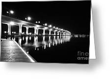 Roosevelt Bridge, Stuart Fl Greeting Card