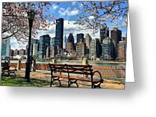 Roosevelt Island Greeting Card