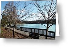 Roosevelt Lake Promenade Greeting Card