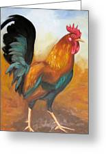 Rooster 4 Greeting Card