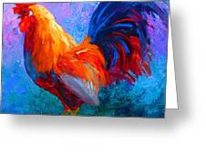 Rooster Bob Greeting Card