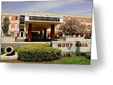 Root Hall 2 Greeting Card