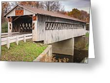 Root Rd Covered Bridge  Greeting Card