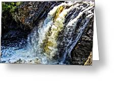Rootbeer Falls Greeting Card