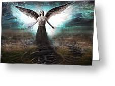 Rooted Angel Greeting Card