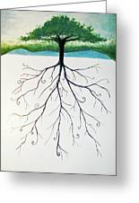 Roots Of A Tree Greeting Card