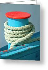 Rope Coil Greeting Card