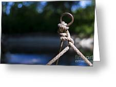 Rope Knot Greeting Card by Stefano Piccini