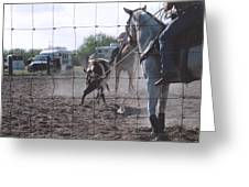 Roping Event 5 Greeting Card