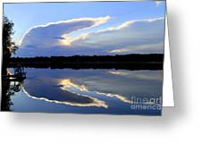 Rorschach Reflection Greeting Card