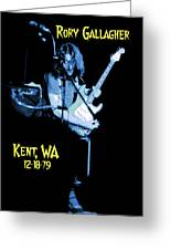 Rory Kent Blues Greeting Card