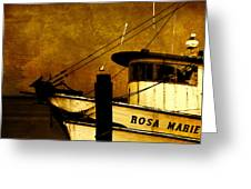 Rosa Marie Greeting Card