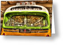 Rosa Parks Bus Dearborn Mi Greeting Card