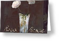 Rosa Rosae Greeting Card