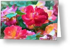 Rose 354 Greeting Card