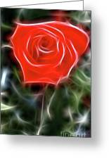 Rose-5879-fractal Greeting Card