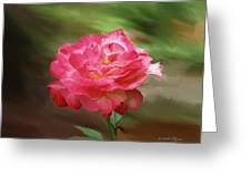 Rose Alone Greeting Card