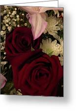 Rose And Lily Greeting Card