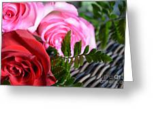 Rose Boquet Greeting Card