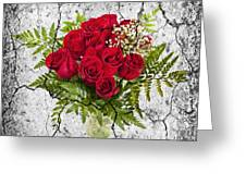 Rose Bouquet Greeting Card by Elena Elisseeva