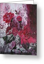 Rose Burst Greeting Card