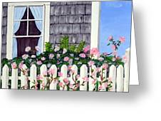 Rose Cottage Greeting Card