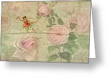 Rose Dancer Greeting Card