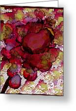 Rose Deep Greeting Card