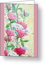 Rose Diptych 1 Greeting Card