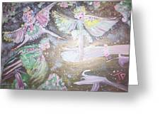Rose Fairies Greeting Card