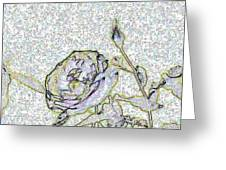 Rose For U Greeting Card