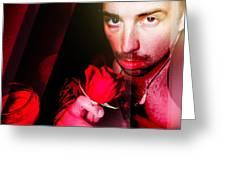 Rose Human Greeting Card by John Jr Gholson