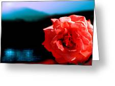 Rose Lake Greeting Card